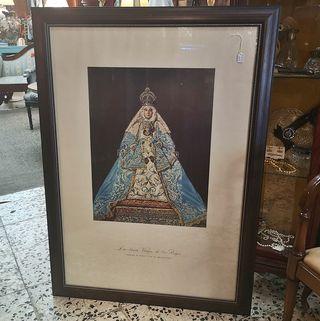 Cuadro Virgen de los Reyes