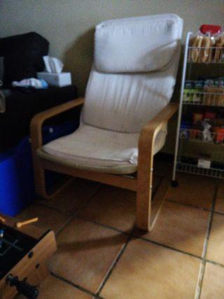silla mecedora ikea