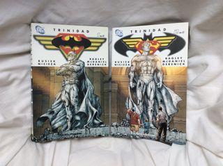 Trinidad 1 y 2 (Batman y Superman) DC COMICS