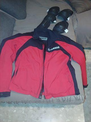 chaqueta moto invierno