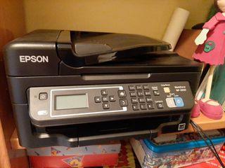 impresora nueva con cartuchos