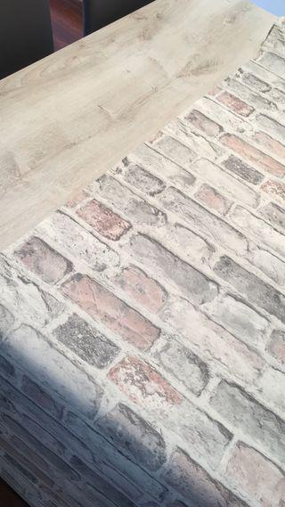Papel pintado imitación piedra