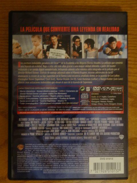 Dvd Superman Edición Especial impecable