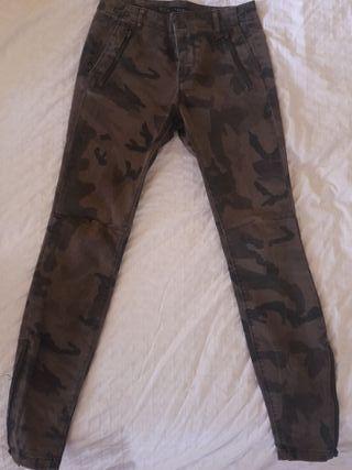 Pantalones militares Zara Talla 36