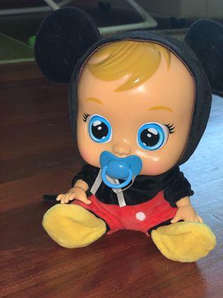 Bebé llorón Mickey