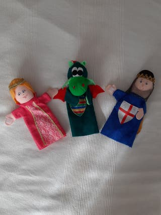 Marionetas de mano EurekaKids