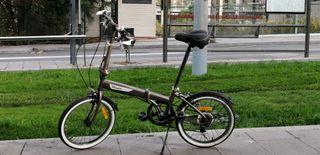bicicleta plegable b-twin NEGOCIABLE
