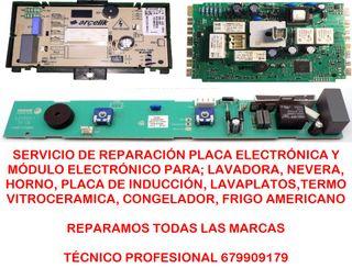Reparaciones placa electronica electrodomesticos