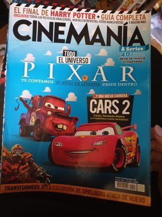 revistas Cinemanía antiguas, tengo muchas mas