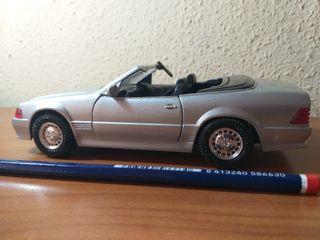mercedes 500 SL de juguetes mira