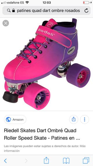 Patines Riedell modelo Ombré talla 37