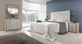 Dormitorio lara con cabecero polipiel