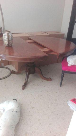 mesa comedor caoba