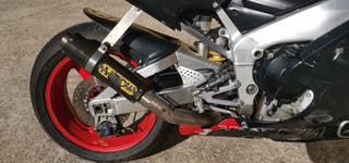Yamaha r1 2001 circuito