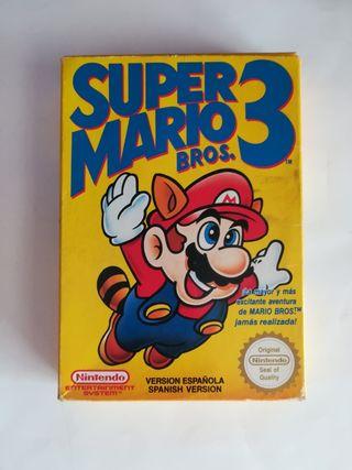 Super Mario Bros 3 NES.