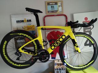 Bicicleta de triatlón CEEPO KATANA 2019