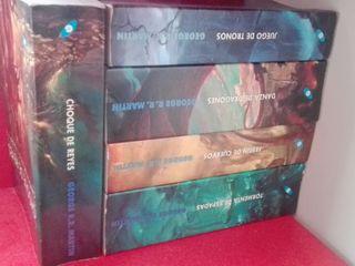 libros juego de tronos 1 - 5