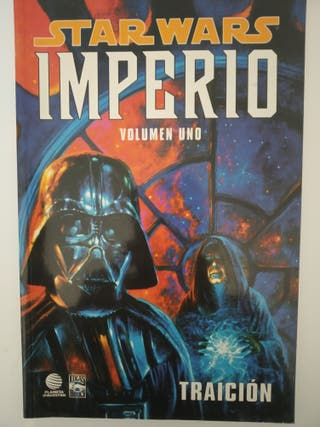 Cómic Star wars imperio la guerra de las galaxias