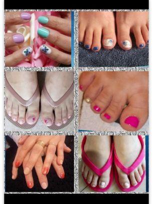 Manicura y Pedicura// Manicure and Pedicure
