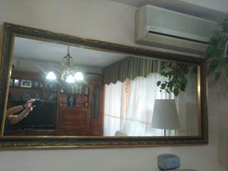 espejo salón enmarcado 180x090