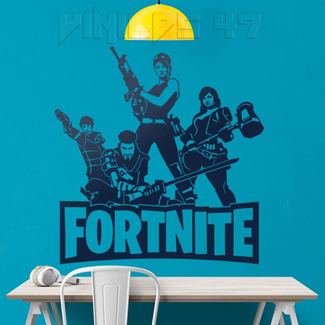 Vinilo decorativo fortnite