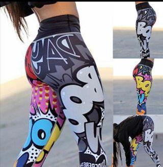 Mallas de deporte pantalon fitness leggins