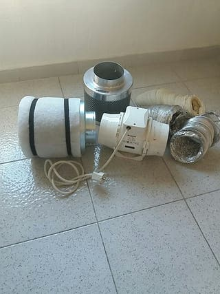 Extractor y filtro cultivo todo 50€