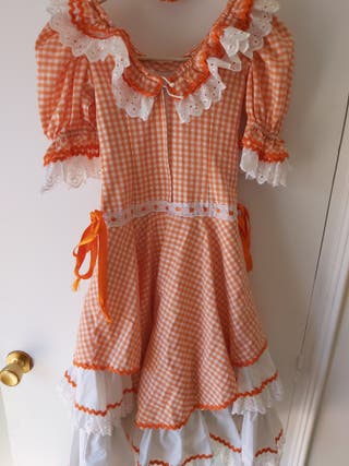 Vestido de gitana niña