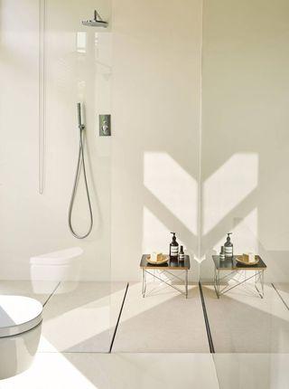Revestimientos paredes baños microcemento