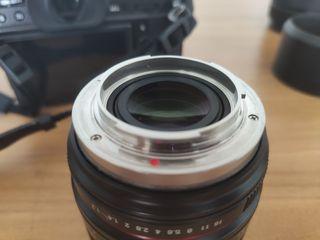 Samyang 50mm f/1.2 para Fujifilm X