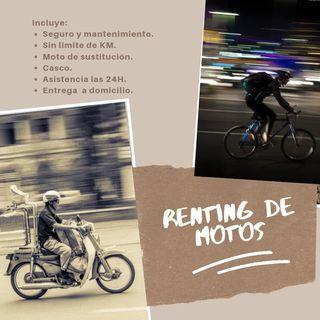 Alquiler de Motos 125cc