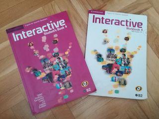 INTERACTIVE 4: Student's Book y Workbook
