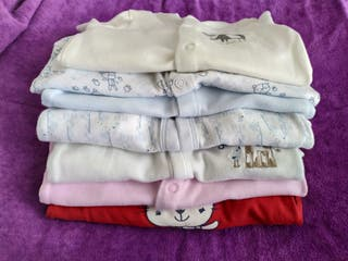 Lote 6 pijamas bebe niño niña