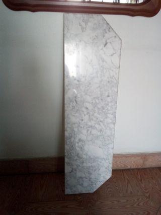 pieza marmol para mesa o taquillon.