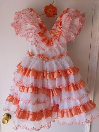 Vestido gitana niña