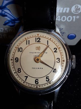 Reloj Ingersoll ltd london triumph vintage, 1955