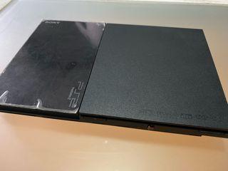 Ps2 slim + más dos mandos como nueva