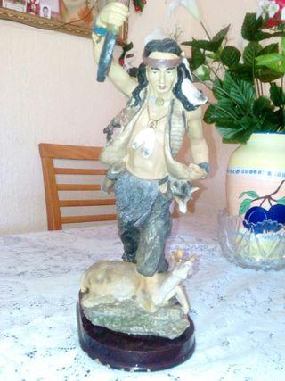 figura de indio de 31 cm
