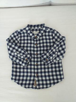 Camisa bebé 6-9 meses