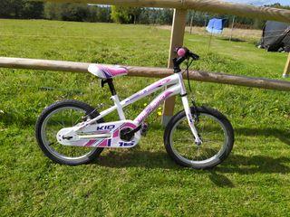 bicicleta niña megamo kids 16