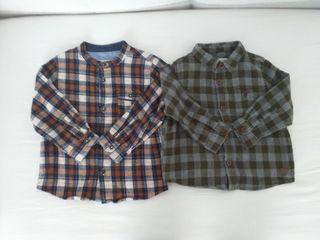 Camisas bebé 12-18 meses