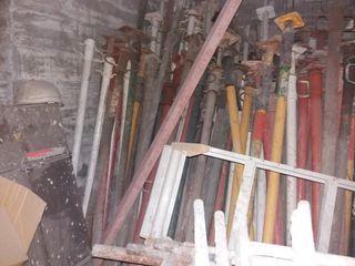 Puntale bandejas andamios y maquina corte varios