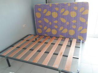 CAMA MATRIMONIO (somier y colchón)