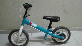 Bicicleta de iniciación sin pedales