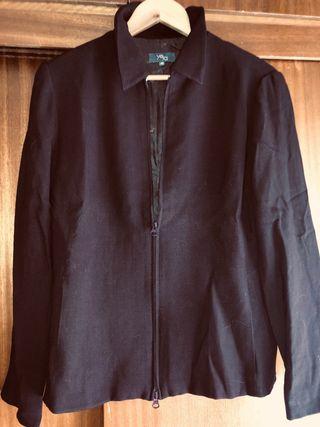 Traje chaqueta falda marrón YERA