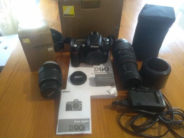 Cámara réflex Nikon D 90