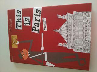 """Libro infantil """"This is Paris"""" en inglés."""