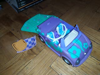 coche mini convertible de polly pocket