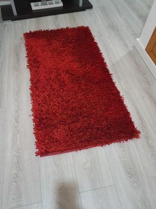 Alfombra en color Rojo