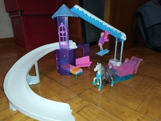 Pista de ski muñeca polly pocket